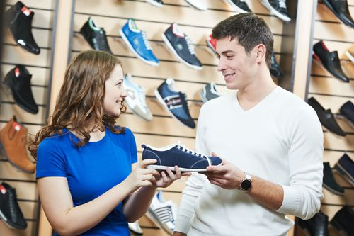 What do you look for when buying a shoe?