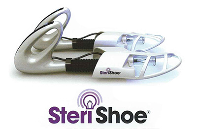 SteriShoe ultraviolet light shoe sanitizer
