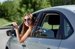 A Teen Driver Holding Car Keys