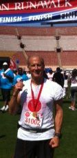 Peter Steinberg at Run Walk Event