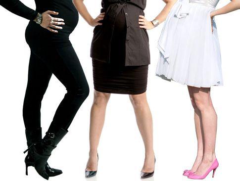 high heels pregnany