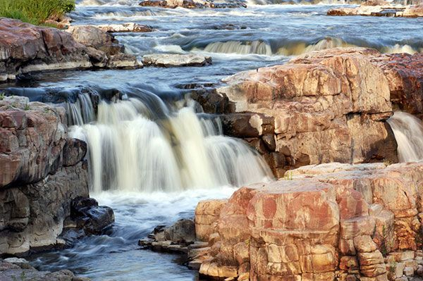 South Dakota Water Falls