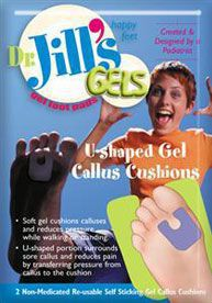 Dr. Jill's U shaped callus pad in Houston
