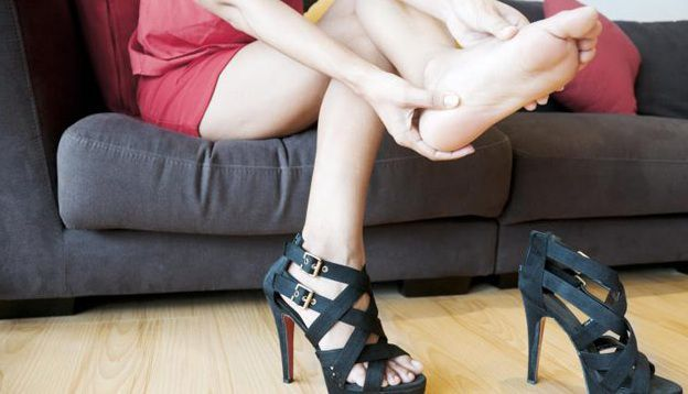 Sore feet in heels is not enough of a reason to alter your body with injections