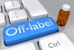 Off-Label Medication Button on a Keyboard