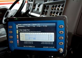 Electronic Logging Device for Truckers