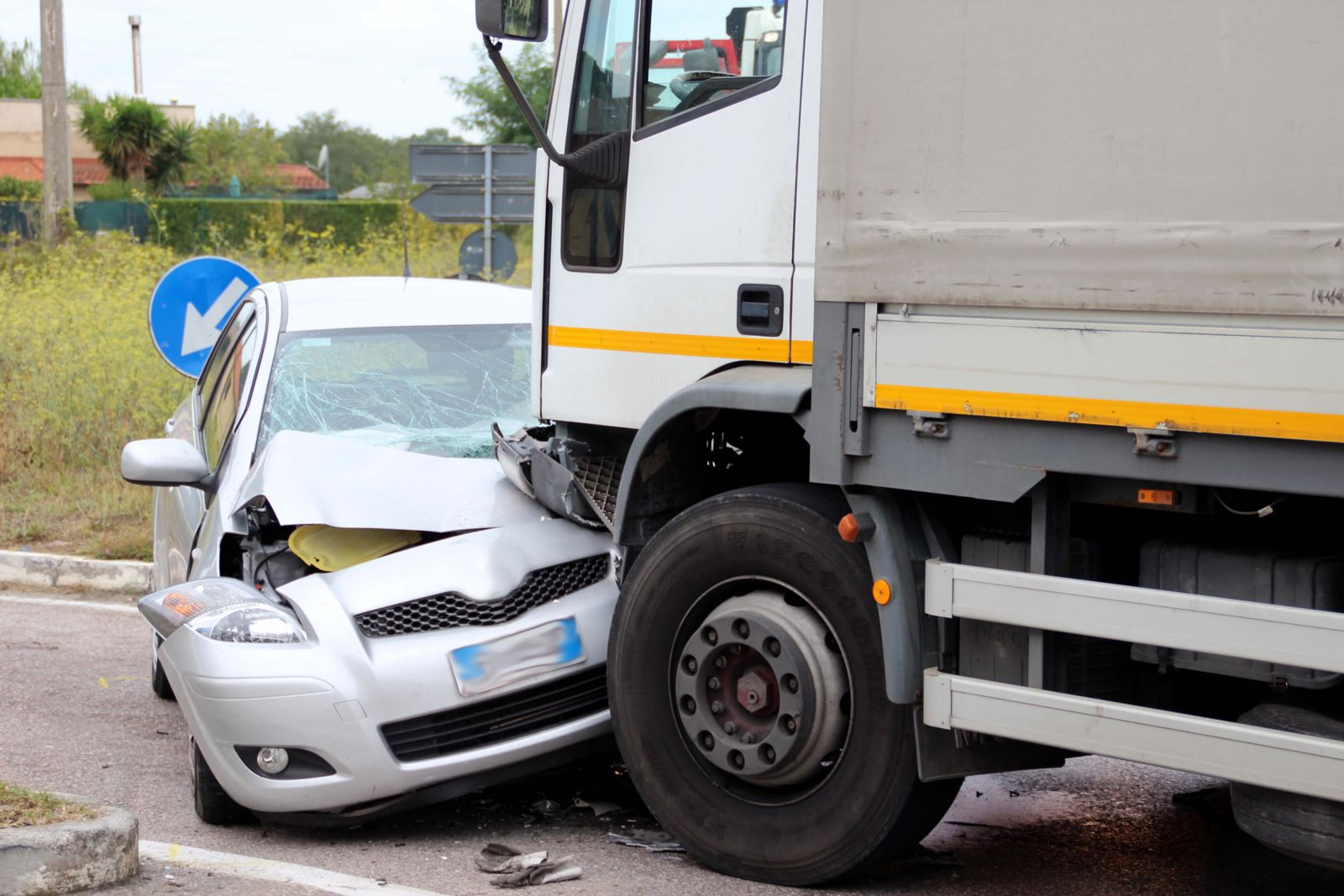 Truck accidents are often far more damaging than accidents involving two cars.