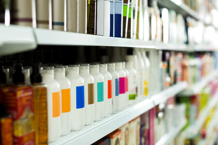 The ingredients that go into cosmetic products are almost completely unregulated by the FDA.