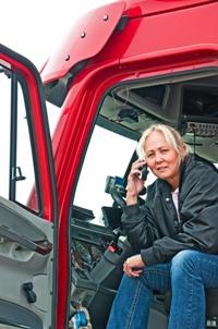 negligent hiring of a truck driver