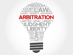 Arbitration Surrounded by Other Related Words
