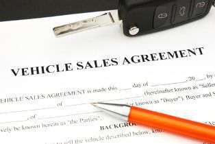 A Copy of a Vehicle Purchase Agreement