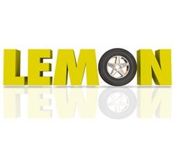 LEMON Spelled Out in Block Letters