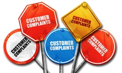 Various Consumer Complaints Signs