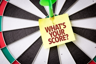 What's Your Score Dart Board