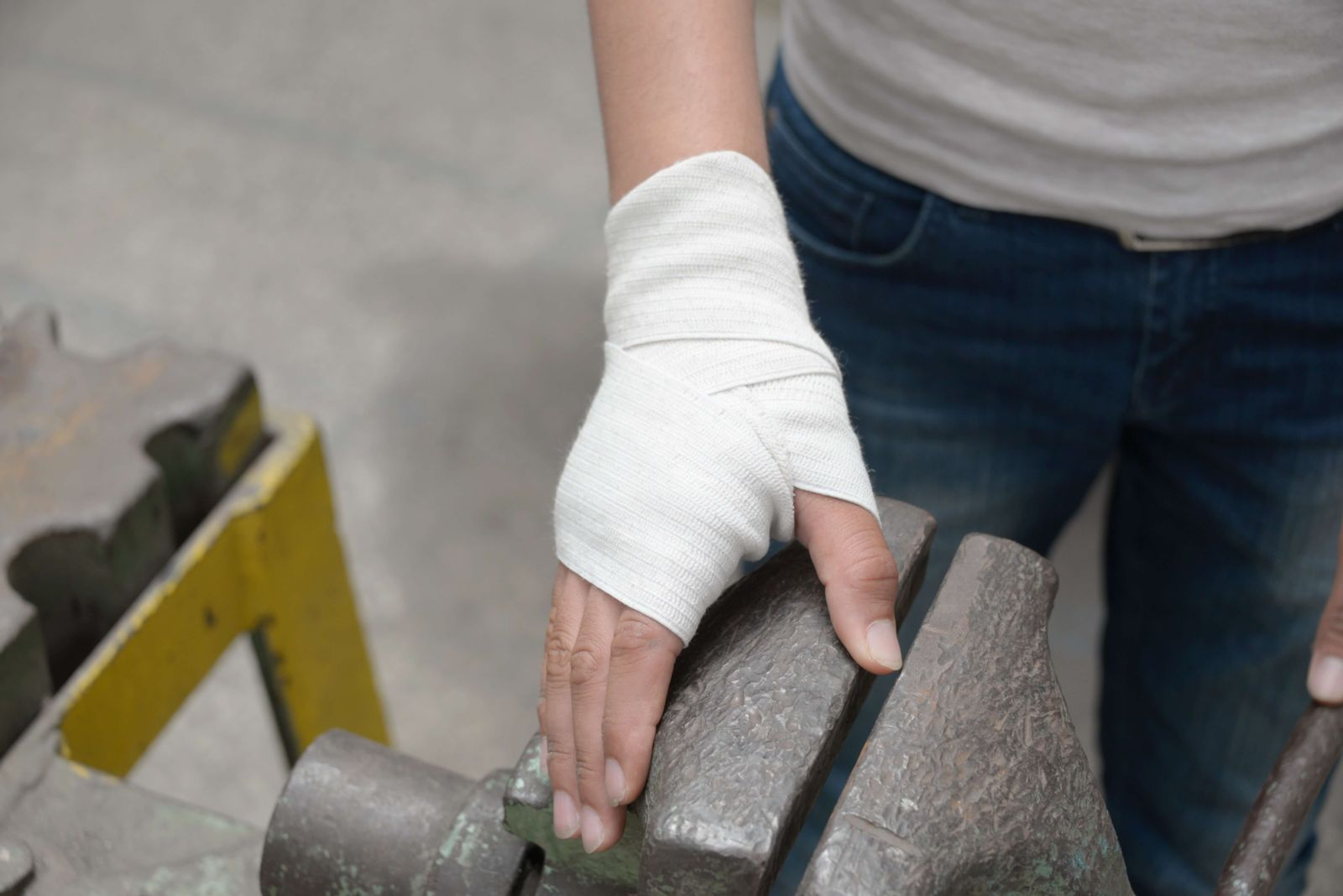 Factory Worker Injury