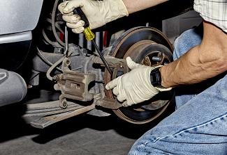 Truck Brake Installation