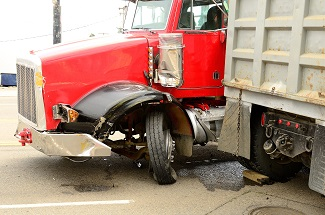 Truck Jack Knife Accident