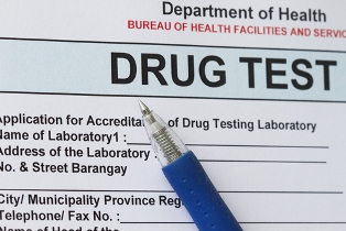 Department of Health Drug Test Paper and Pen