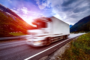 speeding trucks cause dangerous crashes The Hart Law Firm