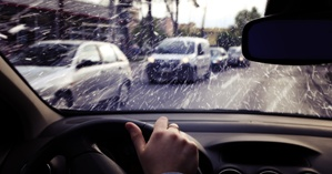Reckless driving in poor conditions