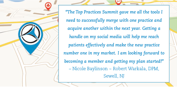 Top Practices Summit Testimonial