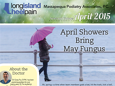 Long Island Heel Pain Newsletter Sample