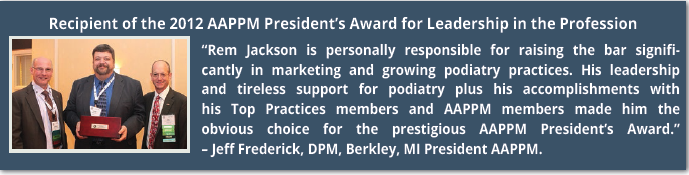 AAPPM President's Award for Leadership