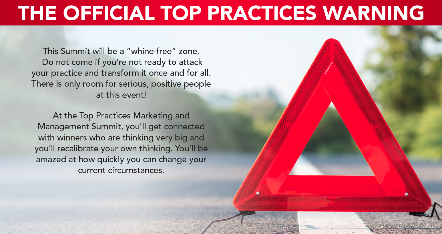 The Official Top Practices Warning