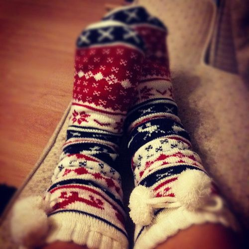 Cute Winter Slipper Socks