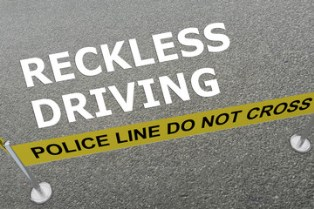 Evidence needed for a reckless driving charge