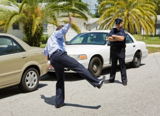 Sobriety test refusal