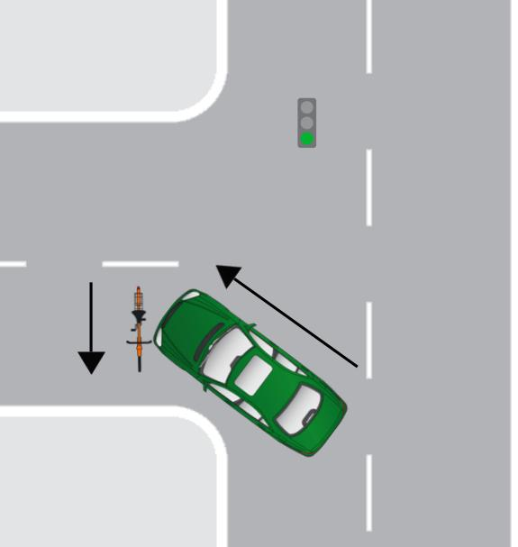 left turn diagram