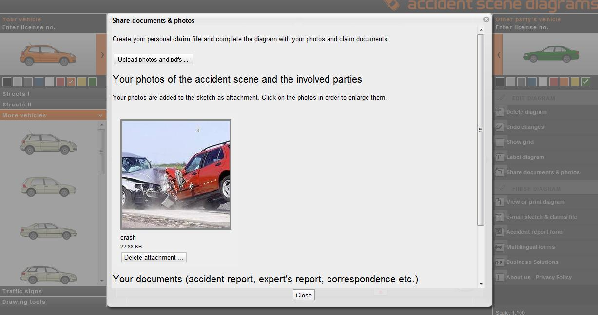 Draw A Sketch of Your Accident | The Warren Firm
