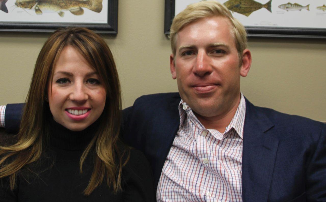 Kristin with Brian Beckcom