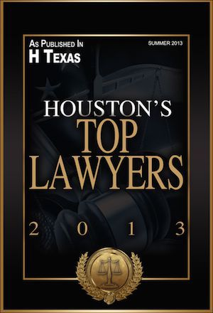 Vuk Named one of Houston's Top Lawyers for 2013 by H Texas Magazine