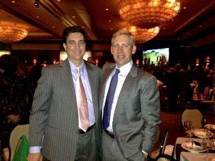 Vuk and Brian at the Gala