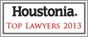 Houstonia Magazine Top Lawyers 2013