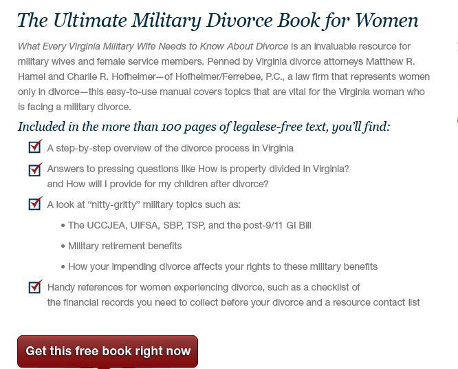 The Ultimate Military Divorce Book for Women