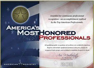 America's Most Honored Top 5%
