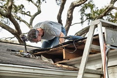 Severe weather can cause hail damage that is distinct for each type of roof