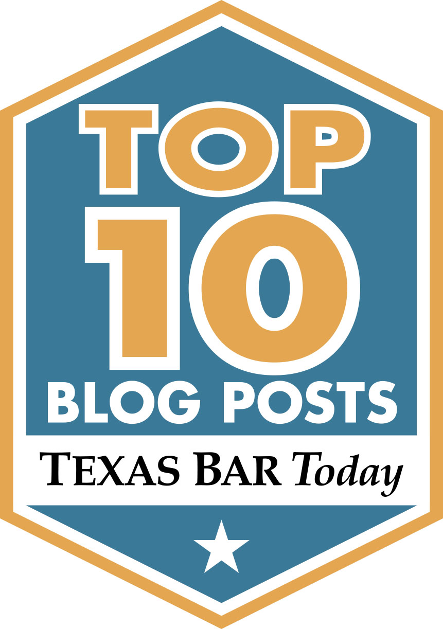 Voss Law Firm Top 10 Blog Posts by Texas Bar Today