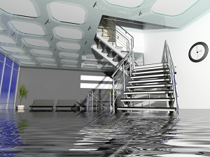 Check your insurance policy carefully after extensive water damage to your commercial property