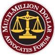 Multi-Million Dollar Advocates Forum Recognition