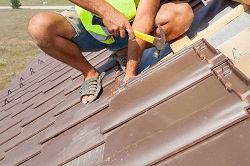 Special care should be taken when repairing damaged roofs
