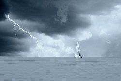 Your marine insurance should pay full value for any storm-related damage to your boat