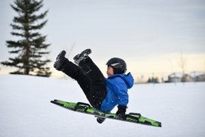 child sledding accidents
