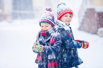 Cold weather risks to children