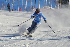 Injury risks of downhill skiing
