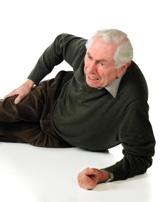 elderly slip and fall