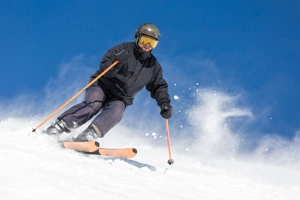 risks of experienced skiers